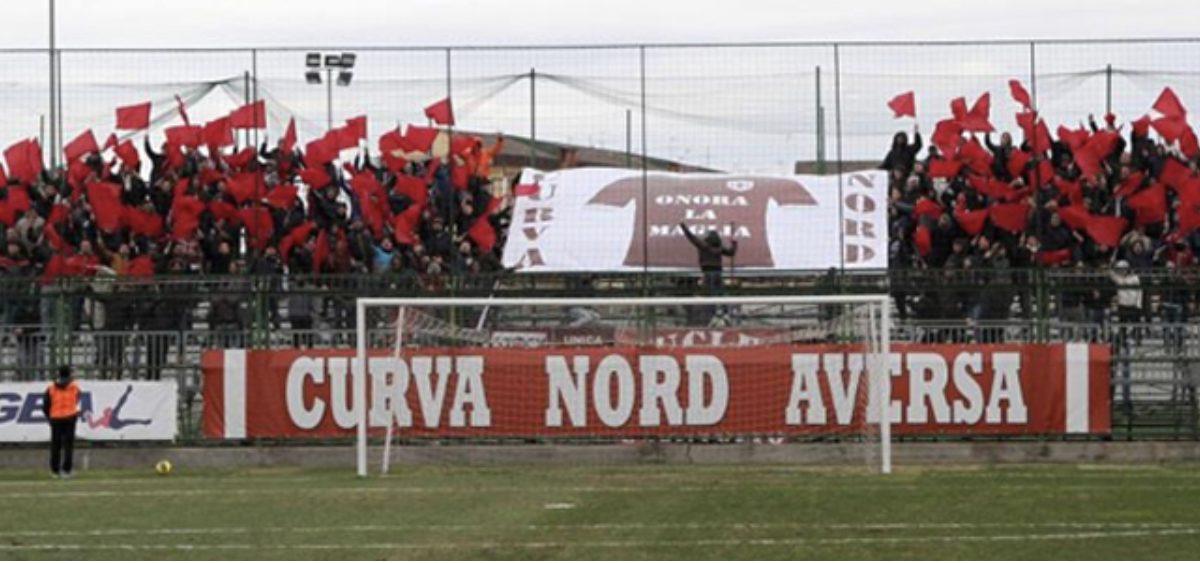 Curva Nord stadio Augusto Bisceglia Aversa