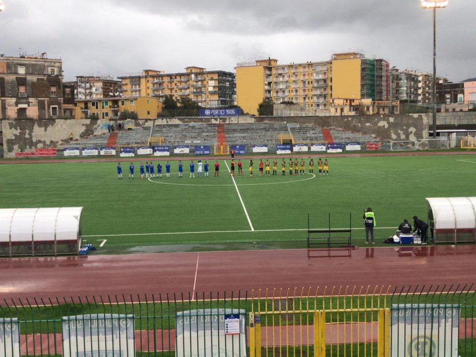 Serie D, il Gravina travolge il Portici