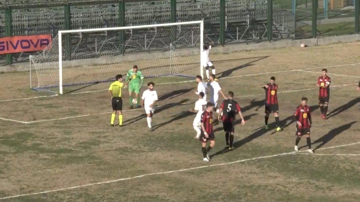 Real Agro Aversa - Sorrento 0–1, il goal di Masullo e le reti annullate a Messina e Chianese