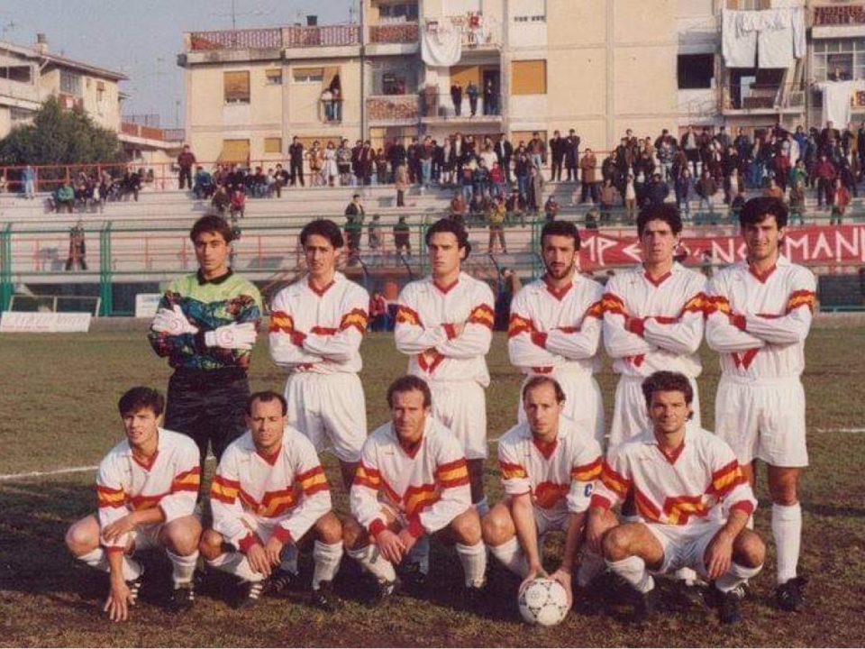 Il Real Aversa nella stagione 1991/92