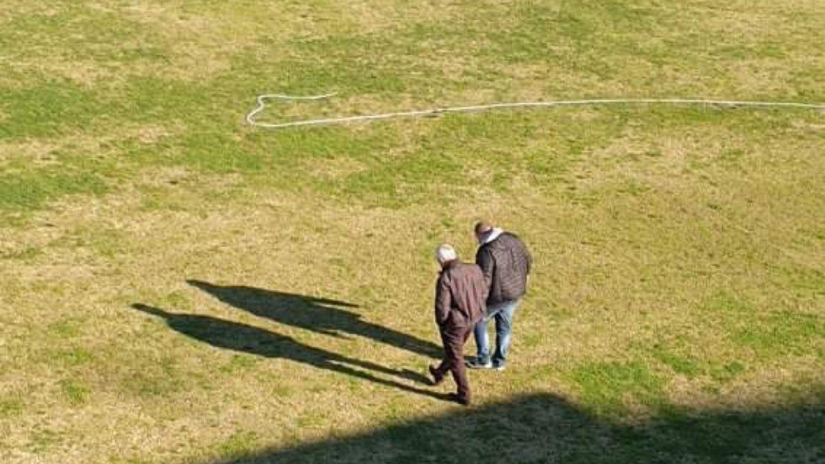 Manto erboso stadio Augusto Bisceglia