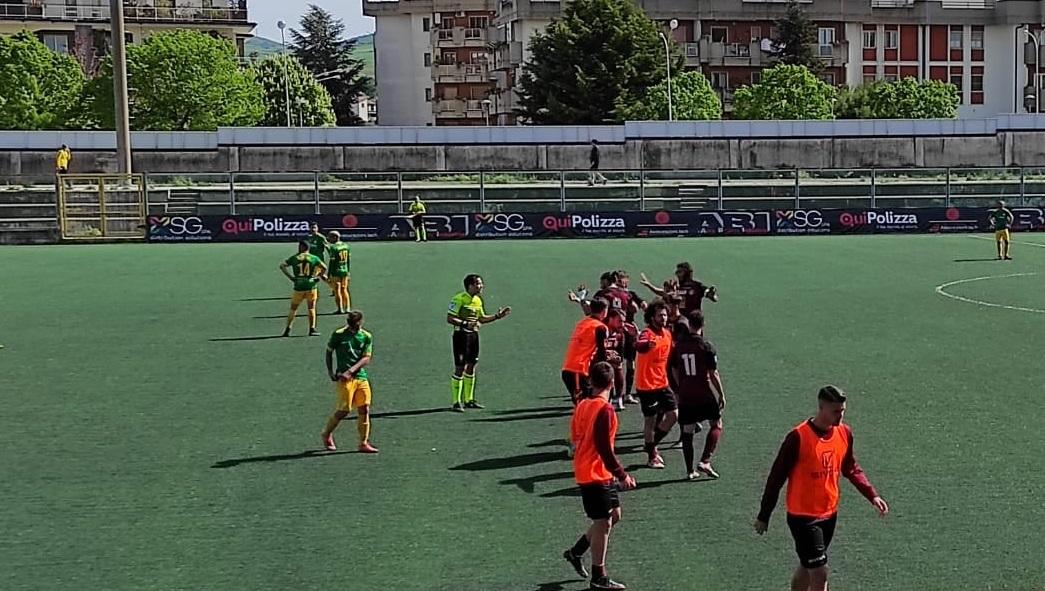 Lavello - Real Aversa, fine gara