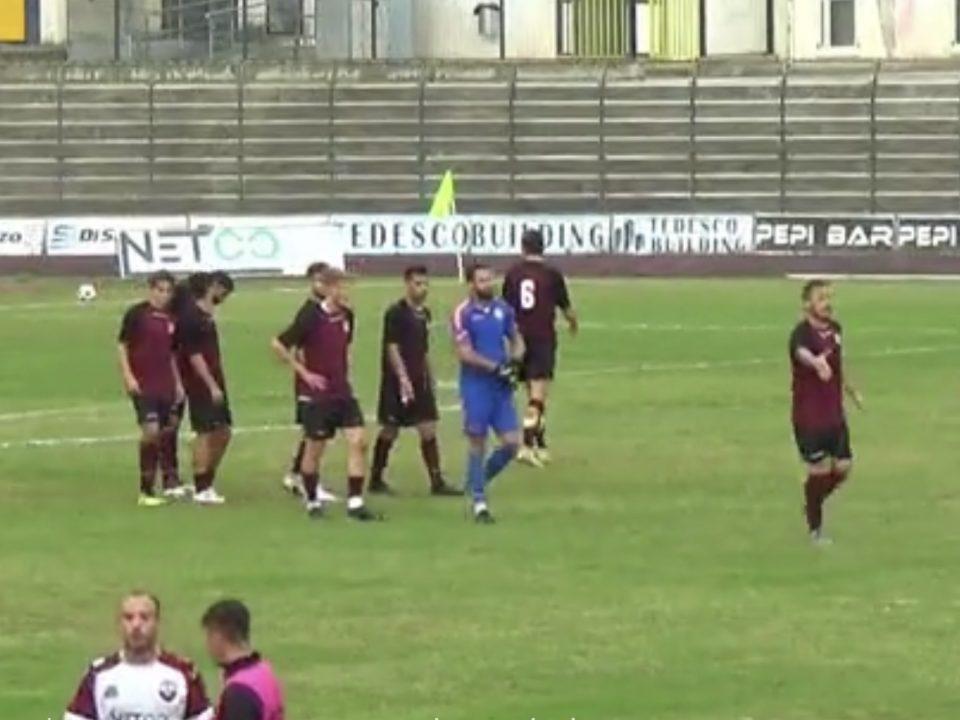 Castrovillari - Real Aversa 1-3. Tabellino e commento